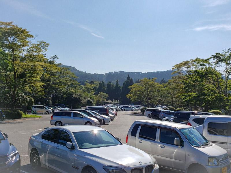 元箱根港駐車場